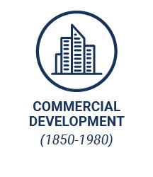 Commercial Development (1850-1980)