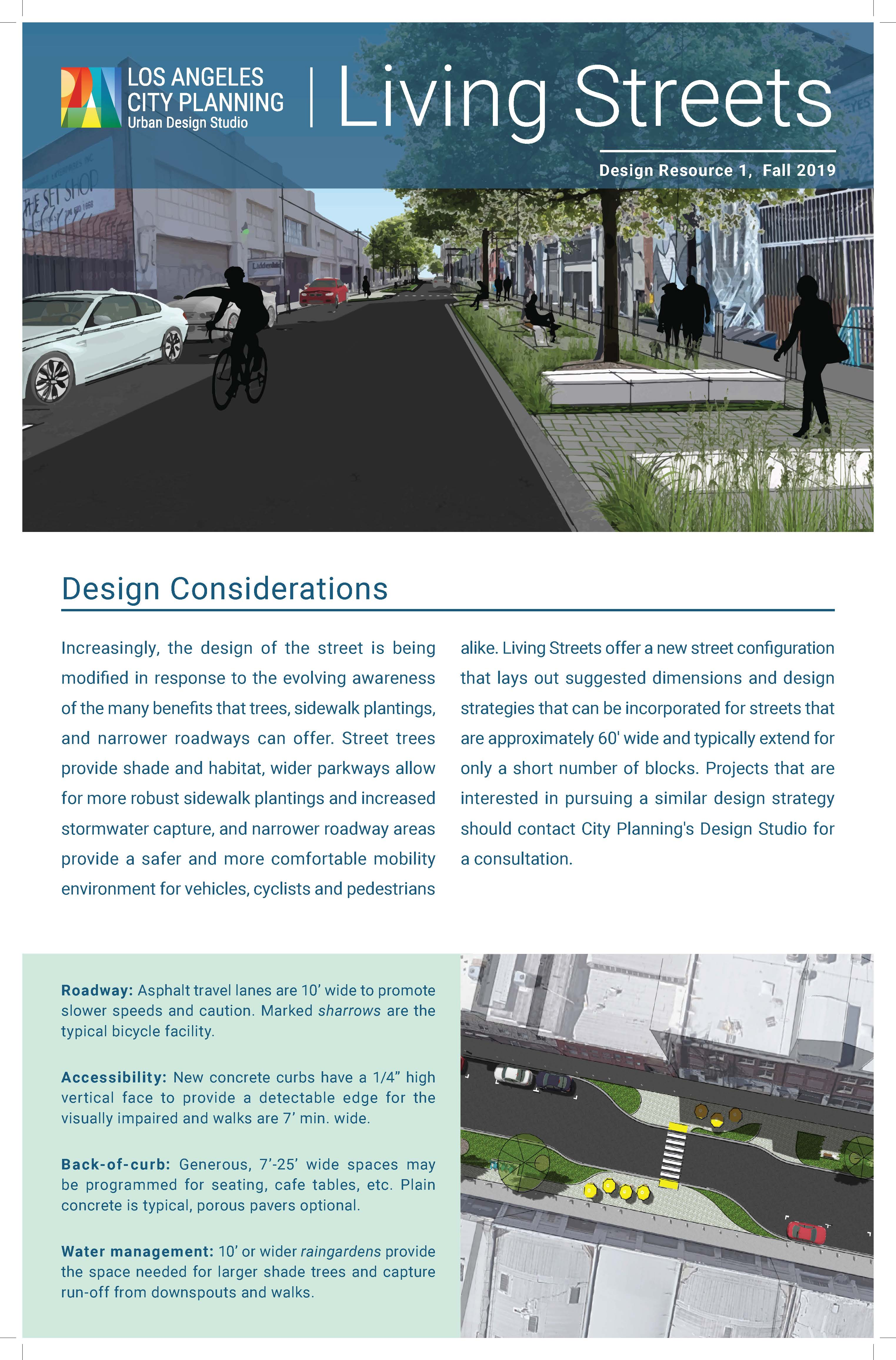 Design Resource 1: Living Streets