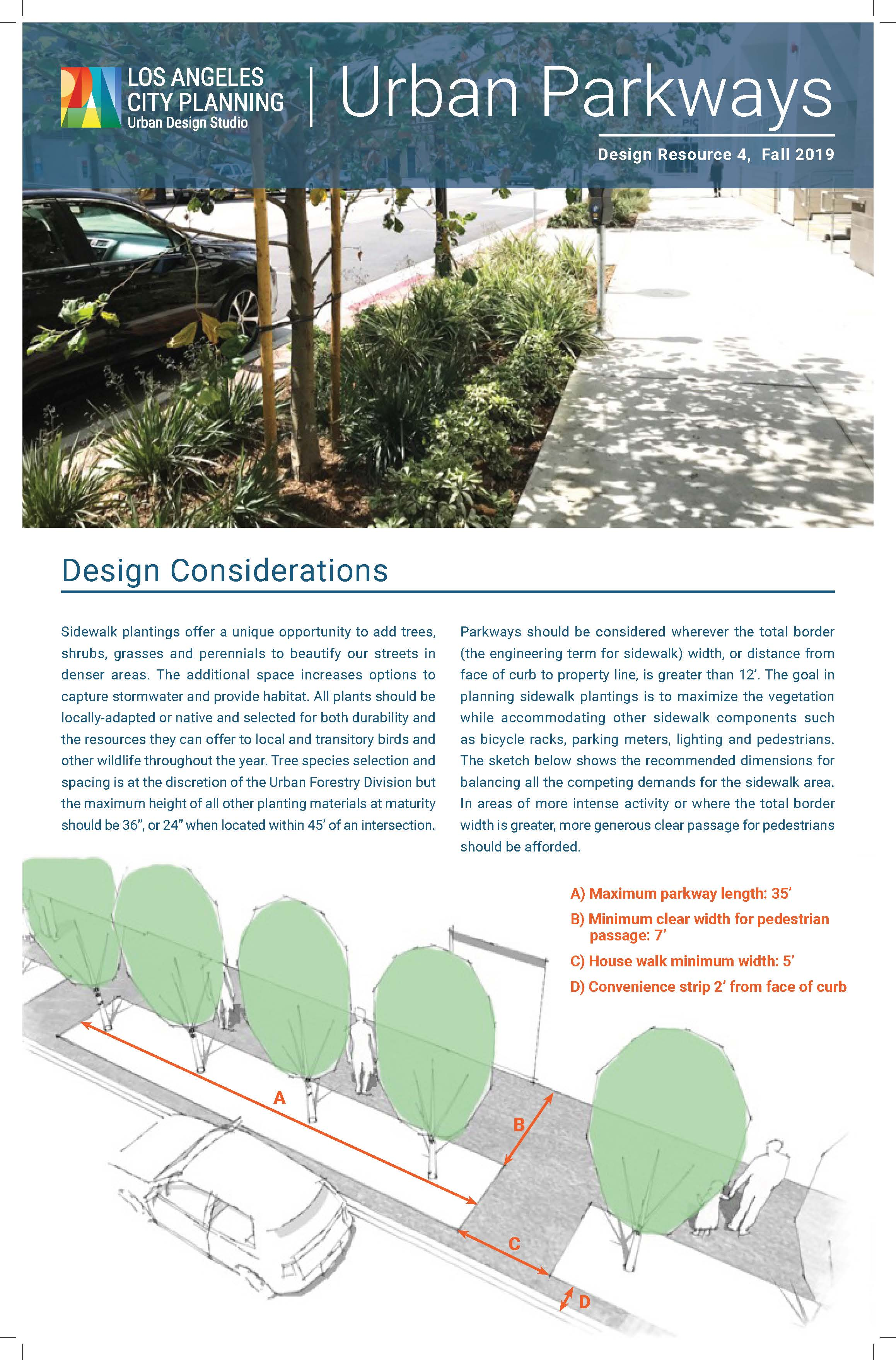 Design Resource 4: Urban Parkways