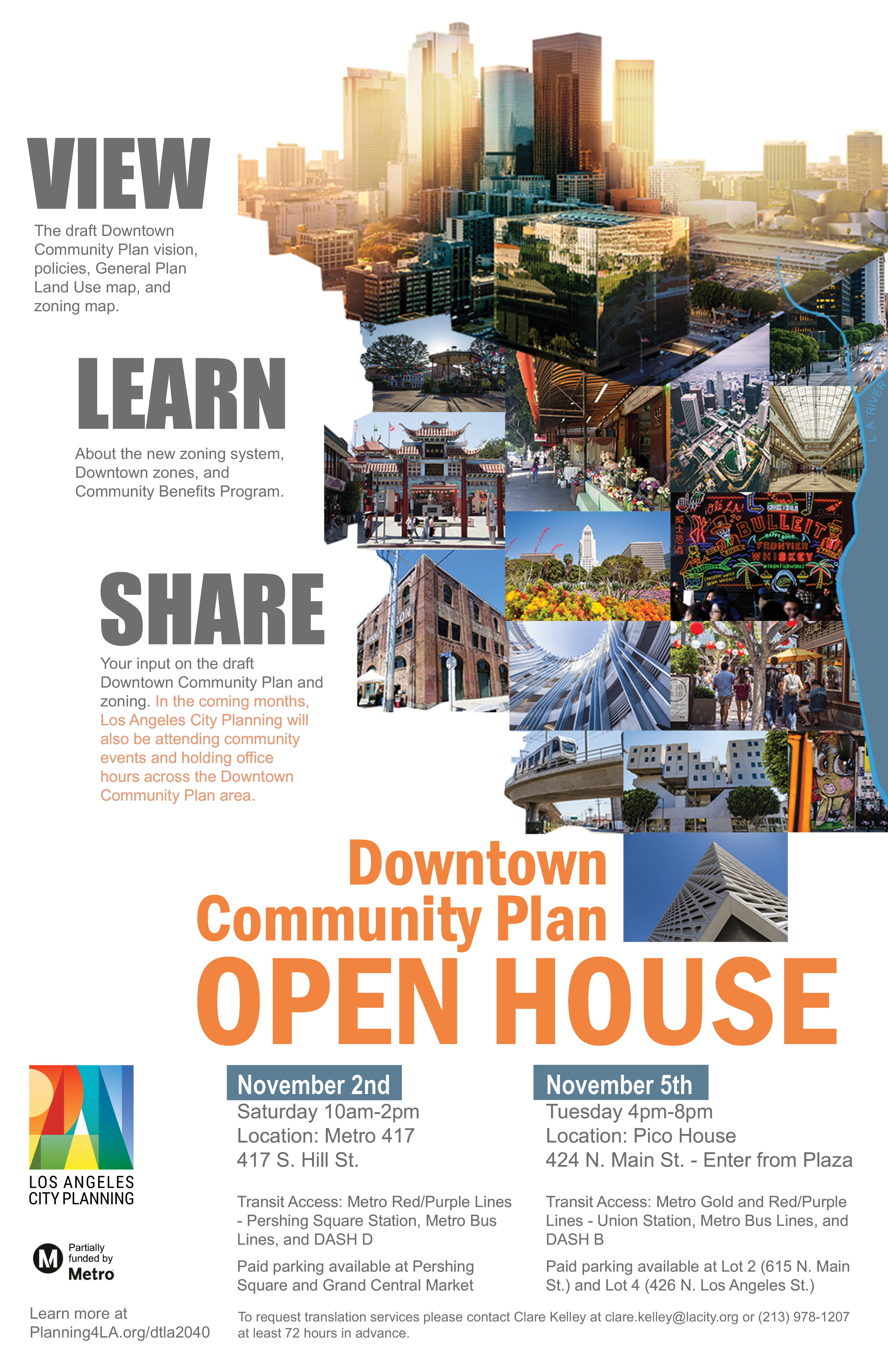Downtown Community Plan Open House Los Angeles City Planning