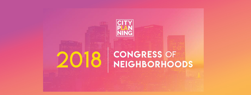 2018 congress of neighborhoods