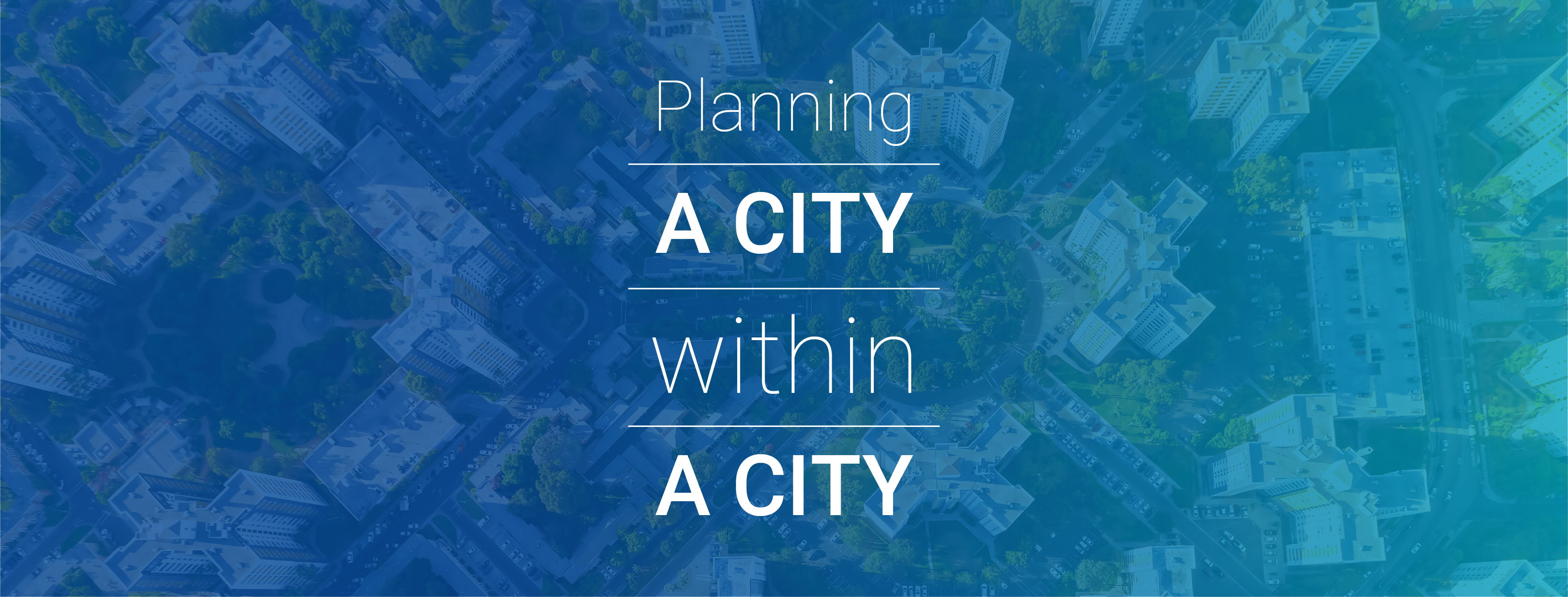 Planning a City within a City