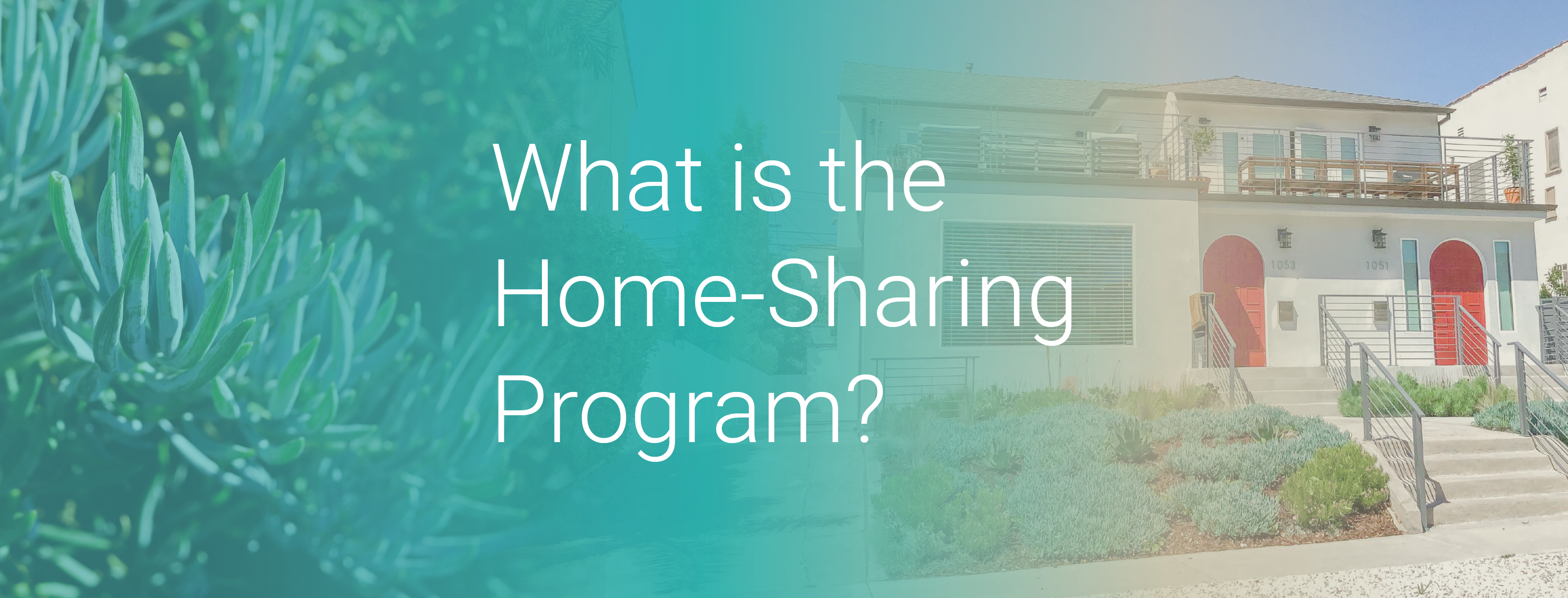 What is the Home-Sharing Program?