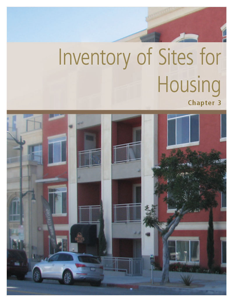 Chapter 3. Inventory of Sites for Housing