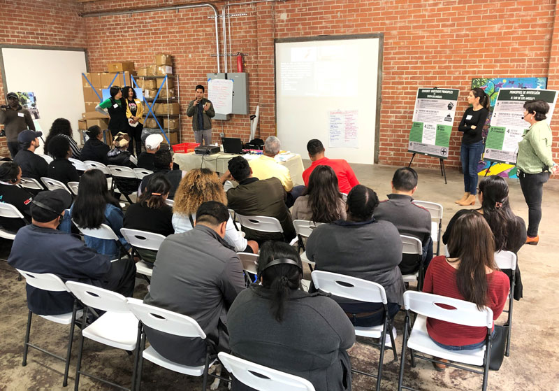South LA Climate Commons - Lunch Event