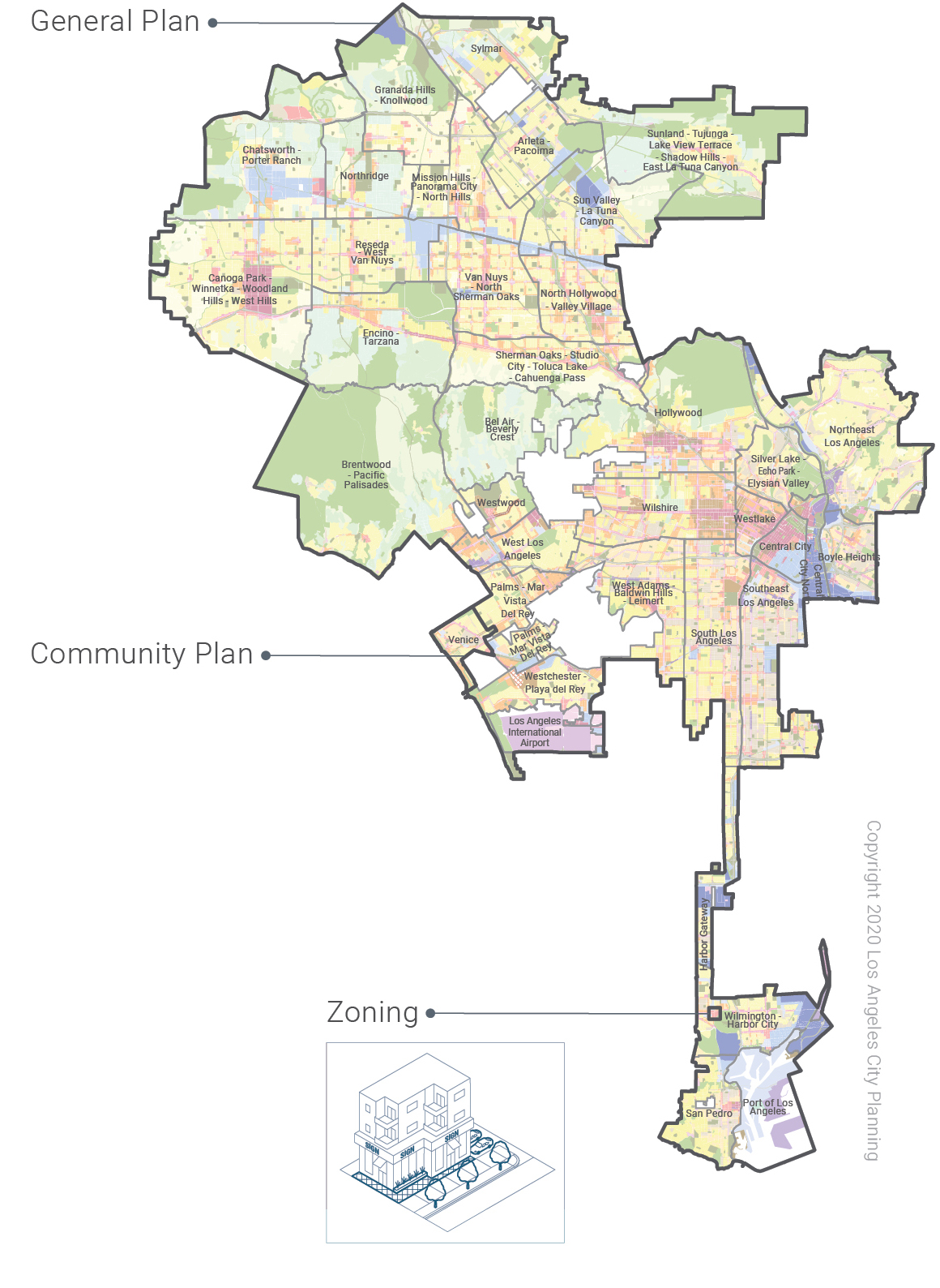 Image of Zones in Los Angeles