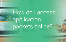How do I access application requirements online?