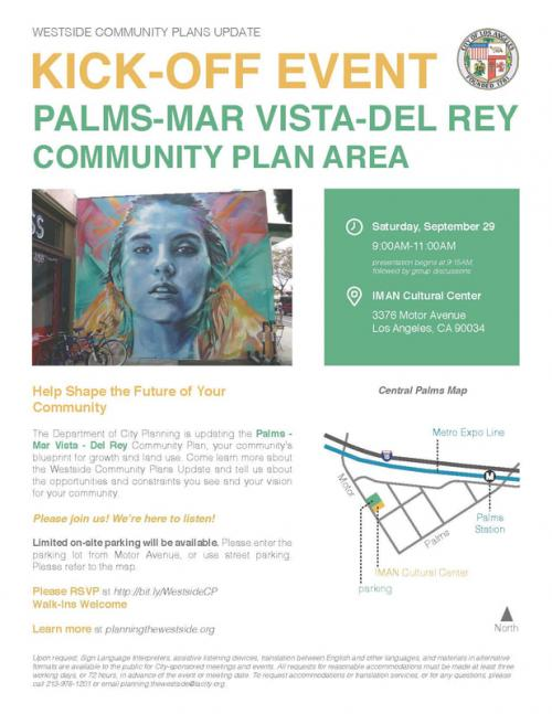 Palms-Mar Vista-Del Rey Community Plan Area