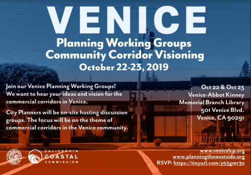 Venice Planning Working Sessions