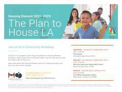 Plan to House LA